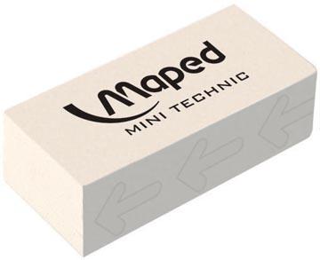 Maped gomme Technic 300 avec emballage cellophane, en boîte