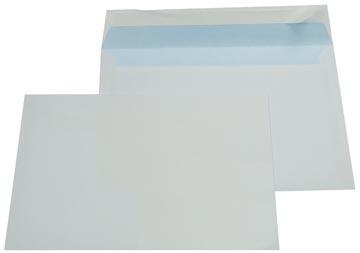 Gallery enveloppes, Ft 162 x 229 mm (C5), bande adhésive, intérieur bleu