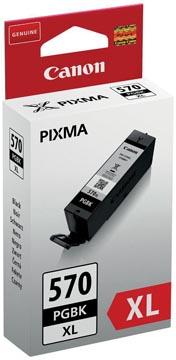 Canon cartouche d'encre PGI-570 GBK XL, 500 pages, 3.900 photos, OEM 0318C001, noir