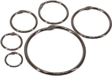 Bronyl anneaux brisés diamètre 32 mm, boîte de 100 pièces
