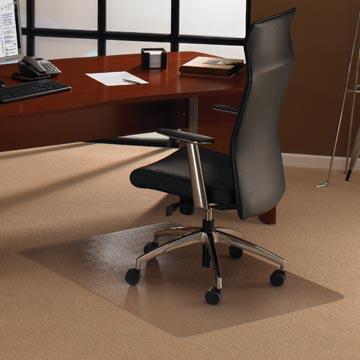 Floortex tapis de sol Cleartex Ultimat, pour moquette, rectangulaire, ft 119 x 75 cm
