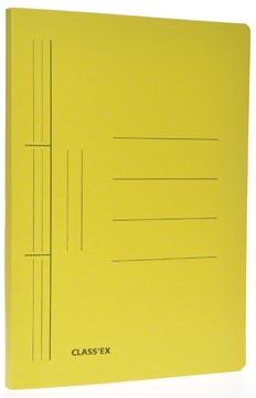 Class'ex chemise à glissière, ft 25 x 32 cm (pour ft A4), jaune