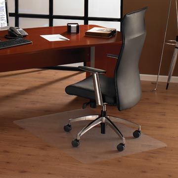 Floortex tapis de sol Cleartex Ultimat, pour les surfaces dures, rectangulaire, ft 119 x 75 cm