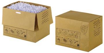 Rexel sacs recyclable pour destructeur 40 l, pour Auto+250 en 300X/M, paquet de 20 sacs
