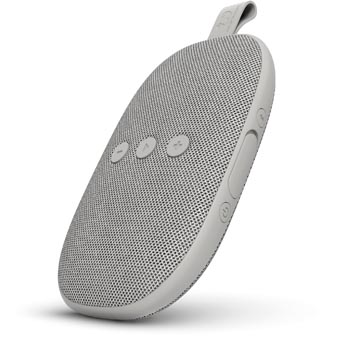 Fresh n' Rebel Rockbox Bold X, haut-parleur Bluetooth portable, Ice Grey