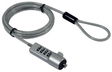 Desq câble antivols avec serrure à combinaison