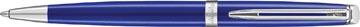 Waterman stylo bille Hémisphère Bright Blue avec détail en palladium