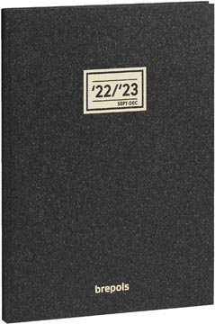 Brepols journal de classe Weekly Notes Essenz, anthracite, 2021-2022