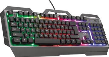 Trust GXT 758 Torac clavier de jeu, azerty