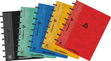 Adoc Classic cahier, ft A5, 144 pages, quadrillé 5 mm, couleurs assorties