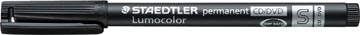 Marqueur pour CD/DVD/BD Lumocolor, noir