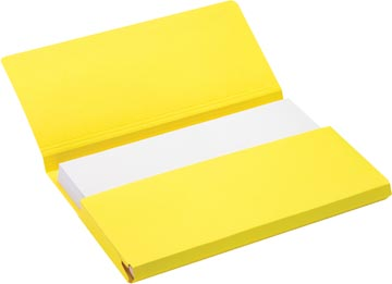 Jalema Secolor Pochette documents pour ft A4 (31 x 23 cm), jaune