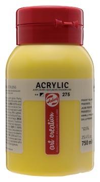 Talens Art Creation peinture acrylique, flacon de 750 ml, jaune primaire