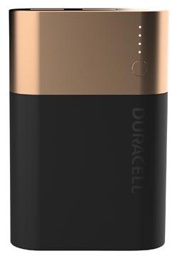 Duracell Powerbank, 10050 mAh, en noir - cuivre, 1 pièce