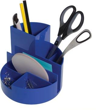 Maul Organisateur de bureau Roundbox, bleu
