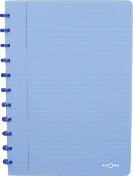 Atoma cahier Trendy ft A4, ligné, bleu transparent
