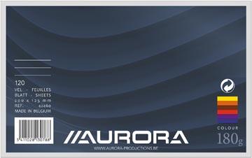 Aurora fiches colorées Ficolor