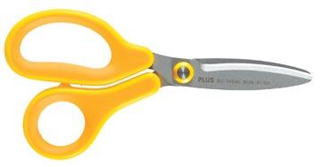 Plus FitCut Curve KIDS ciseaux pour gauchers, lames en fluorine, 14,5 cm, jaune, sous blister