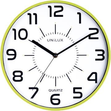 Unilux horloge Pop, diamètre 28 cm, vert