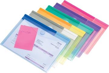 Tarifold enveloppes Color Collection, pour ft A5, (230 x 178 mm), paquet de 6 pièces