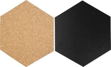 Securit set de décoration Hexagonale, 7 pièces
