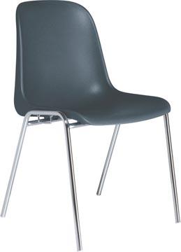 EOL chaise visiteur Meeting+, polypropylène