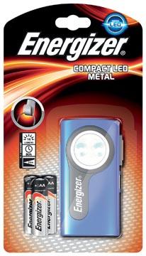 Energizer torche Compact LED, 3 piles AA inclus, sous blister