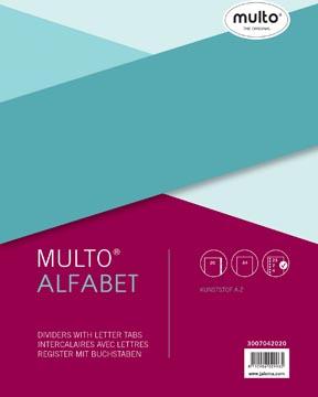 Multo intercalaires, ft A4, en PP, set A-Z