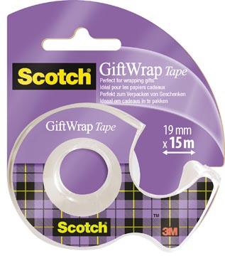 Scotch Gift Wrap tape ft 19 mm x 15 m, sous blister