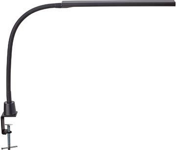 Maul lampe bureau MAULpirro, LED, intensité réglable, avec pince, noir