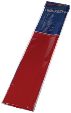 Folia papier crépon, rouge