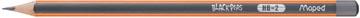 Maped crayon Black'Peps, HB, sans gomme