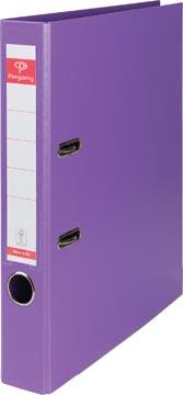 Pergamy classeur, pour ft A4, entièrement en PP, dos de 5 cm, violet