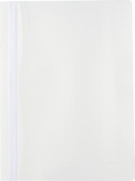 Pergamy farde à devis, ft A4, PP, paquet de 5 pièces, blanc