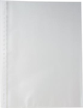 Pergamy pochette perforée, A4, perforation 23 trous, PP grainée de 60 micron, paquet de 100 pièces
