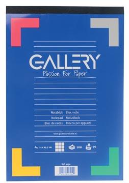 Gallery bloc de notes, ft A4, quadrillé 5 mm
