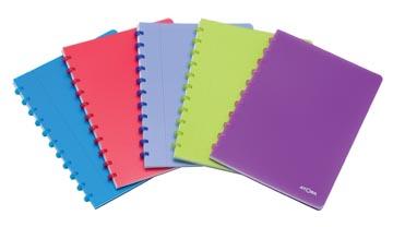 Atoma cahier Trendy ft A4, quadrillé commercial, couleurs assorties