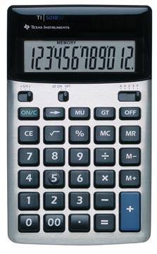 Texas calculatrice de bureau TI-5018 SV