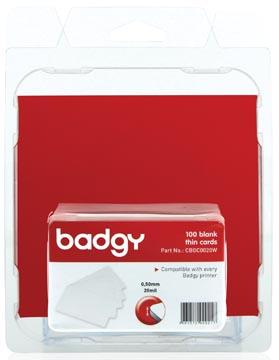 Badgy 100 cartes fines (0.50 mm) pour Badgy100 ou Badgy200