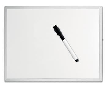 Desq tableau blanc magnétique, ft 40 x 60 cm