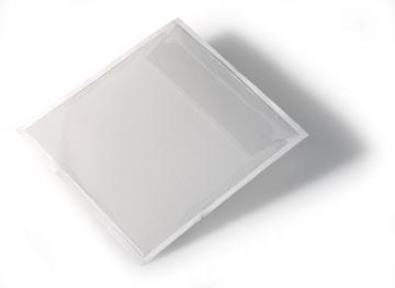 Durable Pochette auto-adhésive pour CD/DVD Pocketf 10 pièces