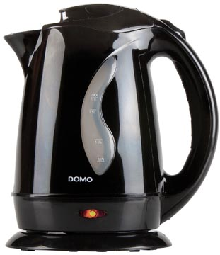 Domo bouilloire 1,7 litre, 2200 W, noir