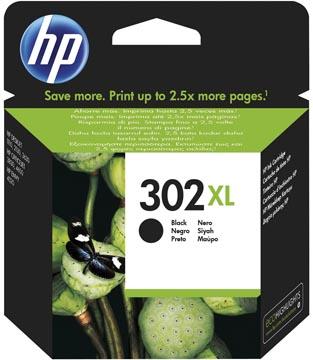 HP cartouche d'encre 302XL, 480 pages, OEM F6U68AE, noir