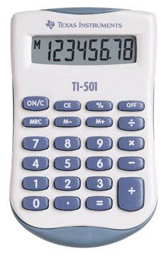 Texas calculatrice de poche TI-501