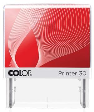 Colop cachet avec système voucher Printer Printer 30, 5 lignes max., ft 47 x 18 mm