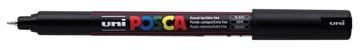 Uni-ball marqueur peinture à l'eau Posca PC-1MR, noir