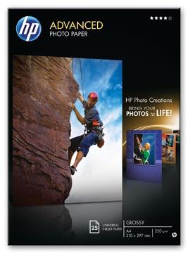 HP Advanced papier photo ft A3, 250 g, paquet de 20 feuilles, brillant