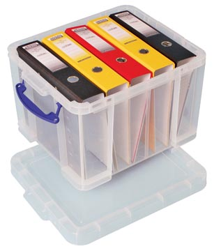 Really Useful Box boîte de rangement 35 l, transparent
