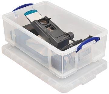Really Useful Box boîte de rangement 50 l, transparent