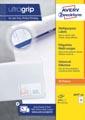Avery Zweckform 3659-2, étiquettes universelles, Ultragrip, blanc, 200 feuilles, 97 x 42,3 mm